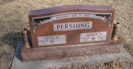 PERSHING, ARTHUR A. - Saunders County, Nebraska | ARTHUR A. PERSHING - Nebraska Gravestone Photos