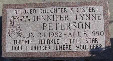 PETERSON, JENNIFER LYNNE - Saunders County, Nebraska   JENNIFER LYNNE PETERSON - Nebraska Gravestone Photos