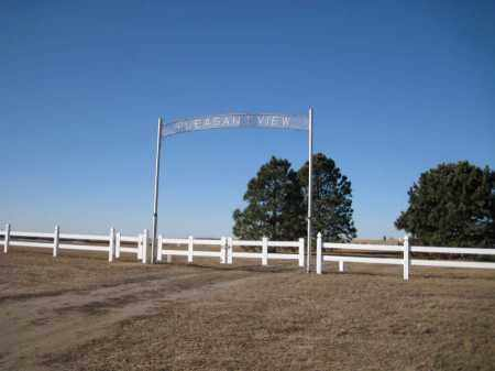 *PLEASANT VIEW CEMETERY, ENTRANCE - Saunders County, Nebraska | ENTRANCE *PLEASANT VIEW CEMETERY - Nebraska Gravestone Photos