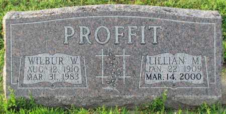PROFFIT, LILLIAN M. - Saunders County, Nebraska | LILLIAN M. PROFFIT - Nebraska Gravestone Photos