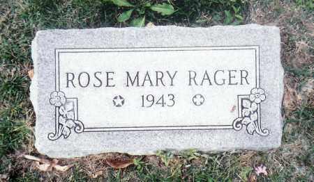 RAGER, ROSE - Saunders County, Nebraska | ROSE RAGER - Nebraska Gravestone Photos