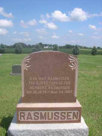 RASMUSSEN, HERBERT - Saunders County, Nebraska   HERBERT RASMUSSEN - Nebraska Gravestone Photos