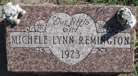 REMINGTON, MICHELLE LYNN - Saunders County, Nebraska | MICHELLE LYNN REMINGTON - Nebraska Gravestone Photos