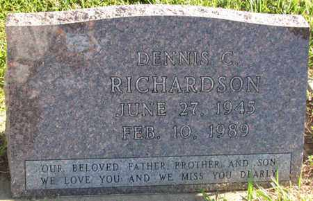 RICHARDSON, DENNIS C. - Saunders County, Nebraska | DENNIS C. RICHARDSON - Nebraska Gravestone Photos