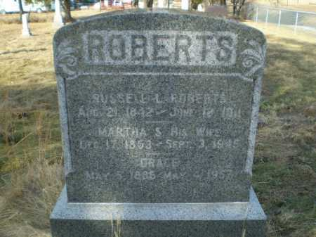 ROBERTS, RUSSELL LASALLE - Saunders County, Nebraska | RUSSELL LASALLE ROBERTS - Nebraska Gravestone Photos