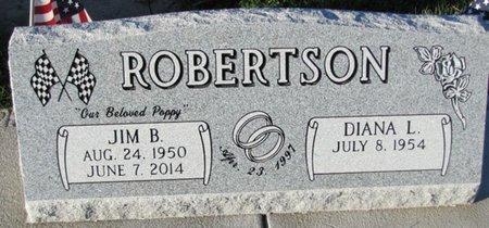 ROBERTSON, JIM B. - Saunders County, Nebraska | JIM B. ROBERTSON - Nebraska Gravestone Photos