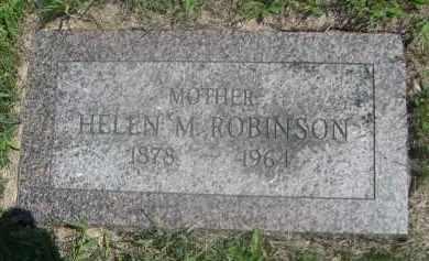 ROBINSON, HELEN M. - Saunders County, Nebraska | HELEN M. ROBINSON - Nebraska Gravestone Photos