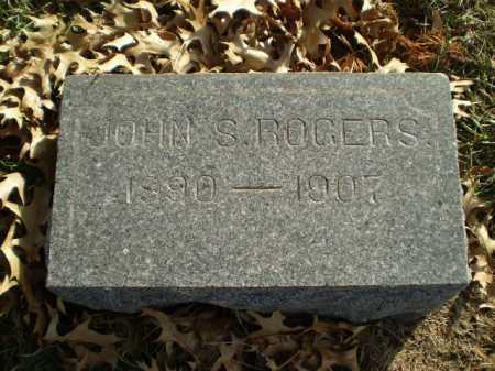 ROGERS, JOHN S - Saunders County, Nebraska | JOHN S ROGERS - Nebraska Gravestone Photos