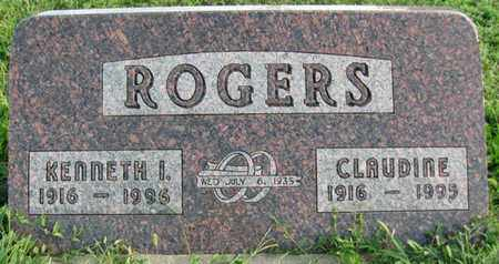 ROGERS, CLAUDINE - Saunders County, Nebraska | CLAUDINE ROGERS - Nebraska Gravestone Photos