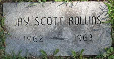 ROLLINS, JAY SCOTT - Saunders County, Nebraska | JAY SCOTT ROLLINS - Nebraska Gravestone Photos