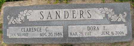 SANDERS, CLARENCE C. - Saunders County, Nebraska | CLARENCE C. SANDERS - Nebraska Gravestone Photos