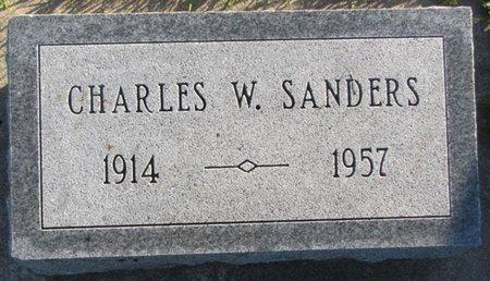 SANDERS, CHARLES W. - Saunders County, Nebraska | CHARLES W. SANDERS - Nebraska Gravestone Photos