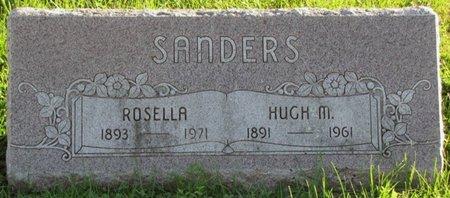 SANDERS, ROSELLA - Saunders County, Nebraska | ROSELLA SANDERS - Nebraska Gravestone Photos