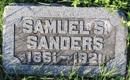 SANDERS, SAMUEL S. - Saunders County, Nebraska   SAMUEL S. SANDERS - Nebraska Gravestone Photos