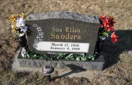 SANDERS, SUE ELLEN - Saunders County, Nebraska | SUE ELLEN SANDERS - Nebraska Gravestone Photos