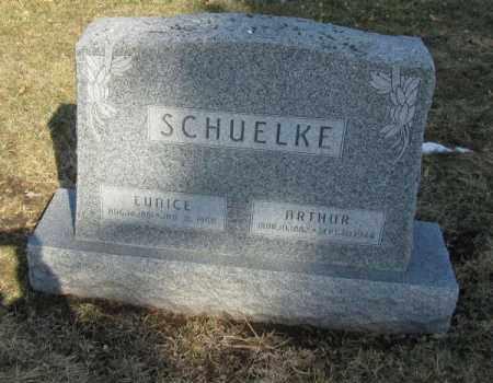 SCHUELKE, ARTHUR - Saunders County, Nebraska | ARTHUR SCHUELKE - Nebraska Gravestone Photos