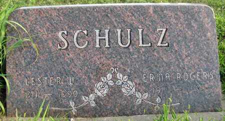 ROGERS SCHULZ, ERMA - Saunders County, Nebraska | ERMA ROGERS SCHULZ - Nebraska Gravestone Photos