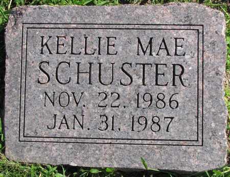 SCHUSTER, KELLIE MAE - Saunders County, Nebraska | KELLIE MAE SCHUSTER - Nebraska Gravestone Photos
