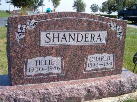 SHANDERA, CHARLIE - Saunders County, Nebraska | CHARLIE SHANDERA - Nebraska Gravestone Photos