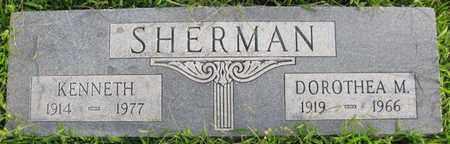 SHERMAN, KENNETH - Saunders County, Nebraska | KENNETH SHERMAN - Nebraska Gravestone Photos