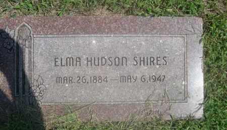 SHIRES, ELMA - Saunders County, Nebraska | ELMA SHIRES - Nebraska Gravestone Photos
