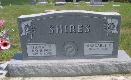 SHIRES, THOMAS M. - Saunders County, Nebraska | THOMAS M. SHIRES - Nebraska Gravestone Photos