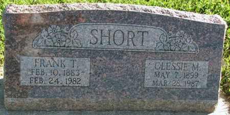 SHORT, FRANK T. - Saunders County, Nebraska | FRANK T. SHORT - Nebraska Gravestone Photos