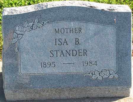 STANDER, ISA B. - Saunders County, Nebraska | ISA B. STANDER - Nebraska Gravestone Photos