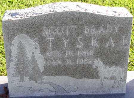 STYSKAL, SCOTT BRADY - Saunders County, Nebraska   SCOTT BRADY STYSKAL - Nebraska Gravestone Photos