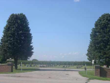 *SUNRISE NORTH CEMETERY, ENTRANCE TO - Saunders County, Nebraska | ENTRANCE TO *SUNRISE NORTH CEMETERY - Nebraska Gravestone Photos