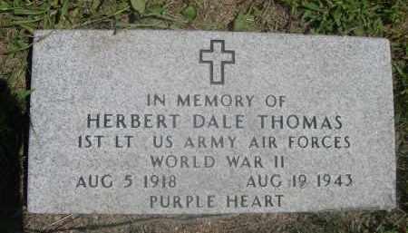 THOMAS, HERBERT DALE - Saunders County, Nebraska | HERBERT DALE THOMAS - Nebraska Gravestone Photos