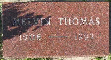 THOMAS, MELVIN - Saunders County, Nebraska   MELVIN THOMAS - Nebraska Gravestone Photos