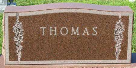 THOMAS, (FAMILY MONUMENT) - Saunders County, Nebraska | (FAMILY MONUMENT) THOMAS - Nebraska Gravestone Photos