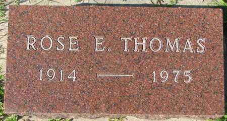THOMAS, ROSE E. - Saunders County, Nebraska | ROSE E. THOMAS - Nebraska Gravestone Photos