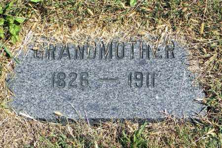 UNKNOWN, GRANDMOTHER - Saunders County, Nebraska | GRANDMOTHER UNKNOWN - Nebraska Gravestone Photos