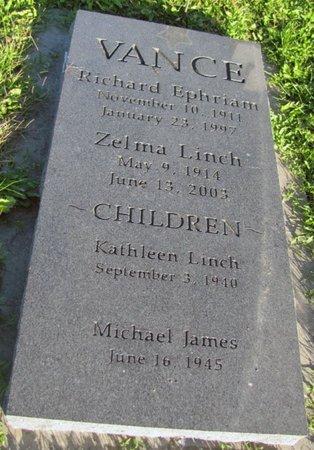 LINCH VANCE, ZELMA DOROTHEA - Saunders County, Nebraska | ZELMA DOROTHEA LINCH VANCE - Nebraska Gravestone Photos