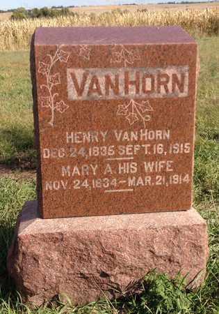 VANHORN, HENRY - Saunders County, Nebraska   HENRY VANHORN - Nebraska Gravestone Photos