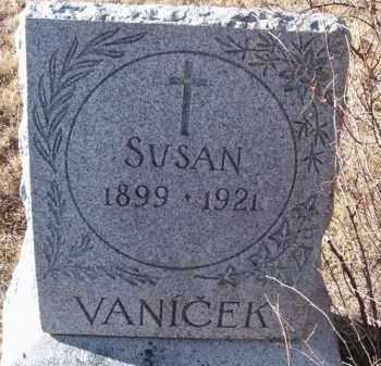 VANICEK, SUSAN - Saunders County, Nebraska   SUSAN VANICEK - Nebraska Gravestone Photos
