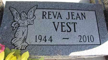VEST, REVA JEAN - Saunders County, Nebraska | REVA JEAN VEST - Nebraska Gravestone Photos