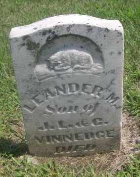 VINNEDGE, LEANDER M. - Saunders County, Nebraska   LEANDER M. VINNEDGE - Nebraska Gravestone Photos
