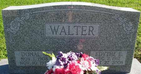 WALTER, DONAL R. - Saunders County, Nebraska | DONAL R. WALTER - Nebraska Gravestone Photos