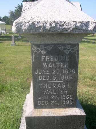 WALTER, FREDDIE - Saunders County, Nebraska | FREDDIE WALTER - Nebraska Gravestone Photos