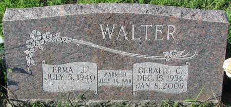 WALTER, GERALD C. - Saunders County, Nebraska | GERALD C. WALTER - Nebraska Gravestone Photos