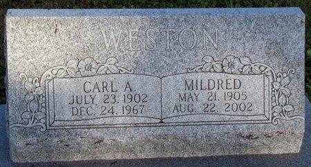 WESTON, MILDRED - Saunders County, Nebraska | MILDRED WESTON - Nebraska Gravestone Photos