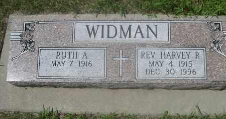 WIDMAN, RUTH A. - Saunders County, Nebraska | RUTH A. WIDMAN - Nebraska Gravestone Photos