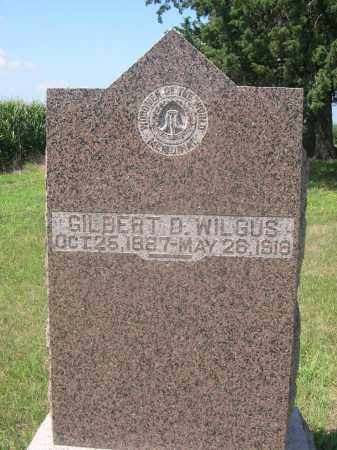WILGUS, GILBERT D. - Saunders County, Nebraska | GILBERT D. WILGUS - Nebraska Gravestone Photos