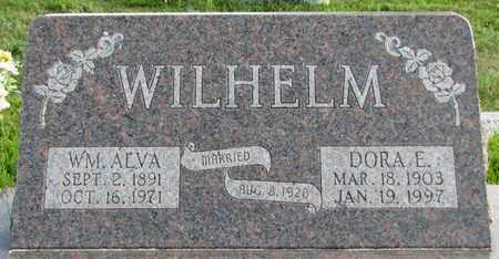 WILHELM, DORA E. - Saunders County, Nebraska | DORA E. WILHELM - Nebraska Gravestone Photos