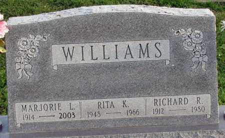 WILLIAMS, RICHARD R. - Saunders County, Nebraska | RICHARD R. WILLIAMS - Nebraska Gravestone Photos