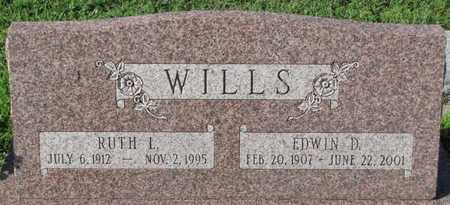 WILLS, RUTH L. - Saunders County, Nebraska | RUTH L. WILLS - Nebraska Gravestone Photos