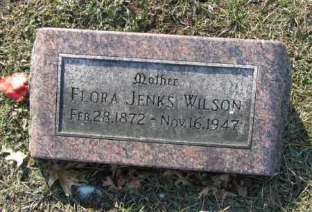WILSON, FLORA - Saunders County, Nebraska   FLORA WILSON - Nebraska Gravestone Photos